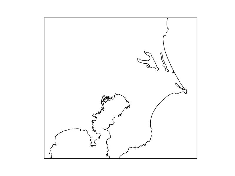basemapやcartopyで地図上でplot | mwSoft